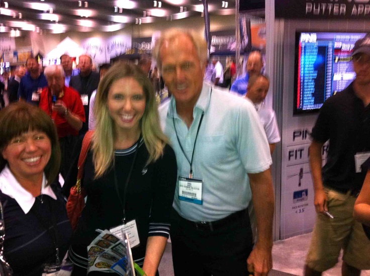 Greg Norman, Kendra and Me