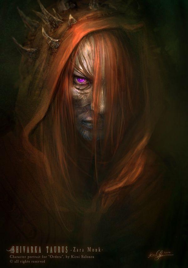 Dark Fantasy Art by Kirsi Salonen | Cuded