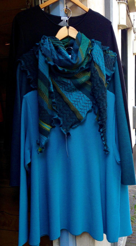 Pullover shawl trui sjaal