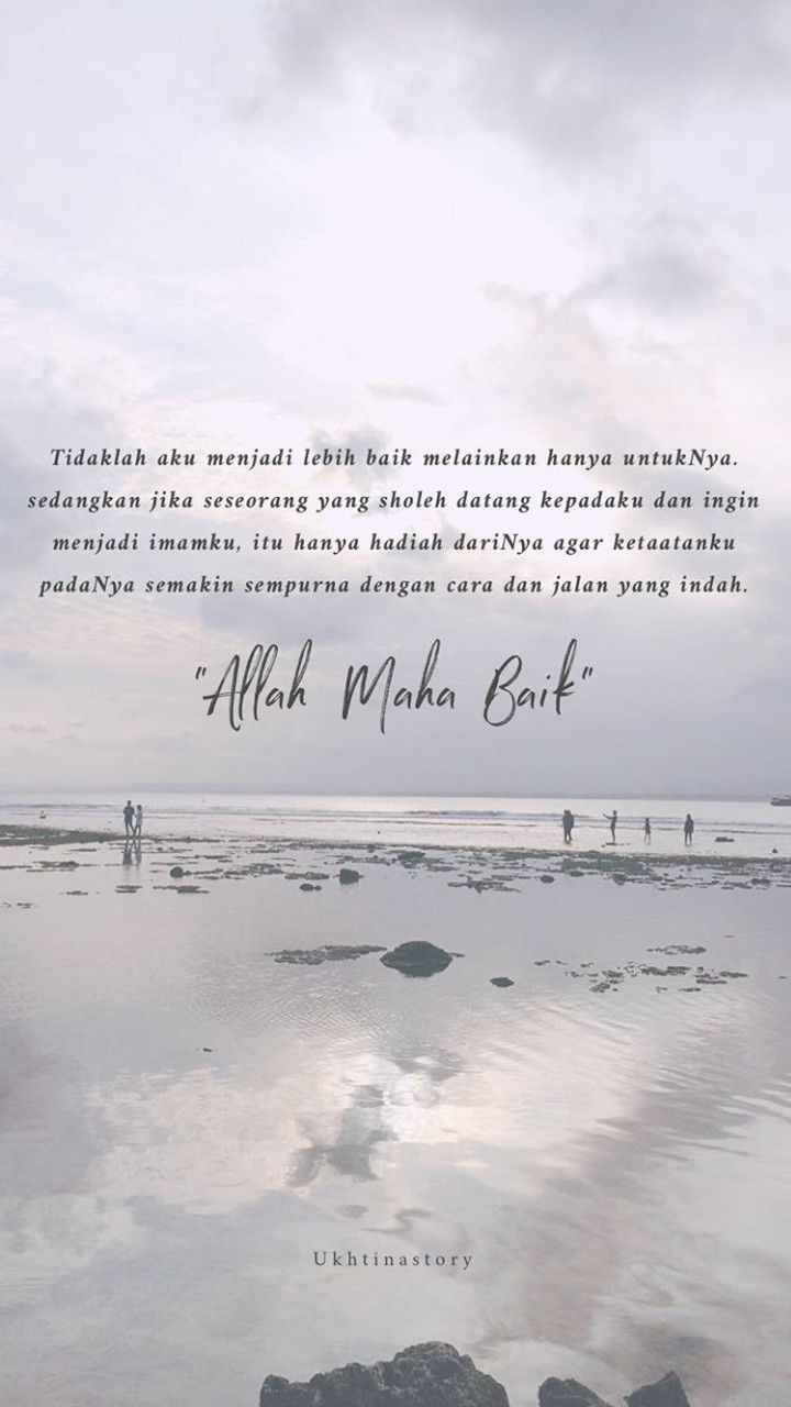 Cinta Dalam Diam Dengan Gambar Islamic Quotes Kutipan Agama