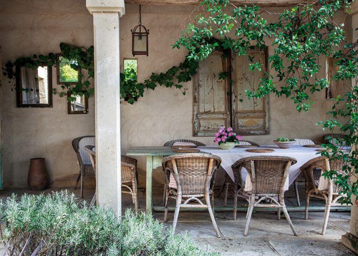 67 best images about rustico espa ol on pinterest home - Porches de casas de campo ...