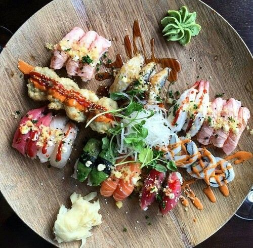 Treat yourself to some snacks! http://amzn.to/2oEqnkm Sushi platter