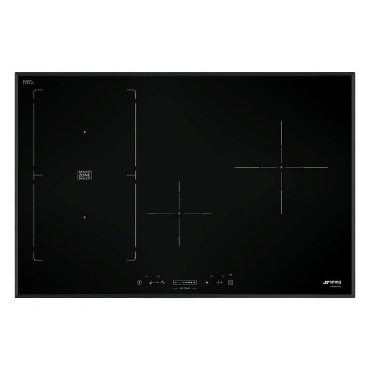 SIM580B, INDUCTION HOB, 80 CM, INDUCTION, MULTIZONE OPTION, BLACK