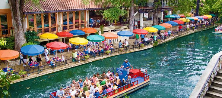 Travel about 90 minutes south of Austin and you'll reach the heart of downtown San Antonio. Take a riverboat tour or eat and drink on the patio of one of the dozens of bars and restaurants lining the famous attraction and if you still have time, don't forget to check out the Alamo.