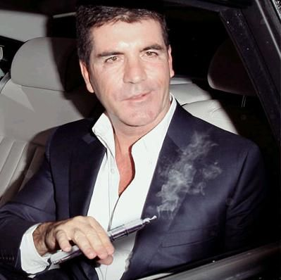 #SimonCowell #vaping #CelebrityVapers