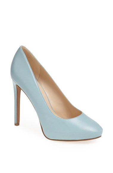 Nine West 'Nixit' Leather Pump available at #Nordstrom