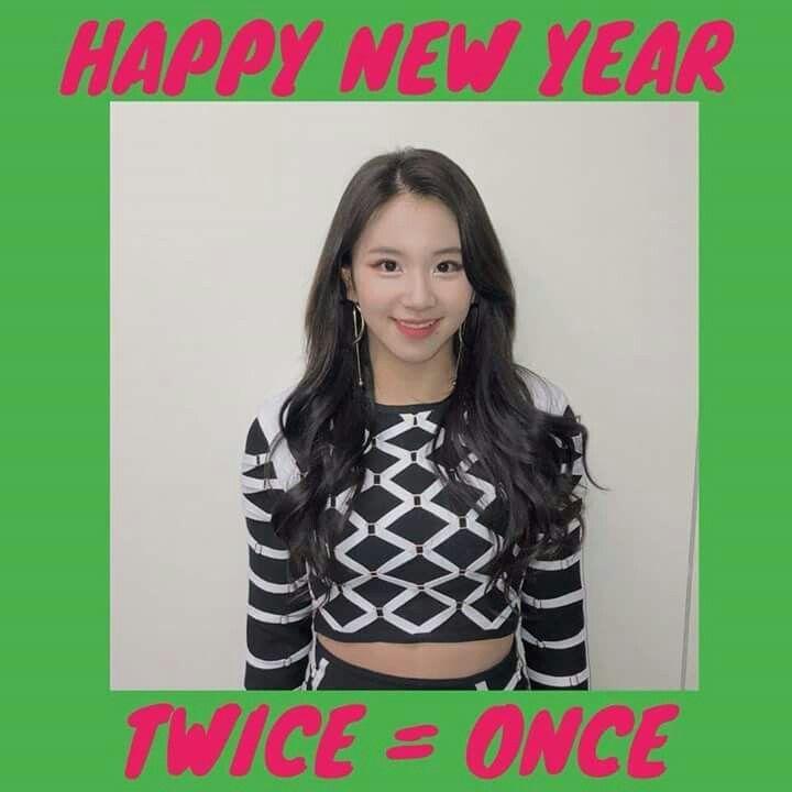Twice-Chaeyoung 180101 @twicetagram