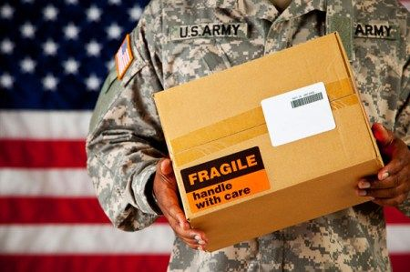 MAILING A CARE PACKAGE TO A SOLDIER