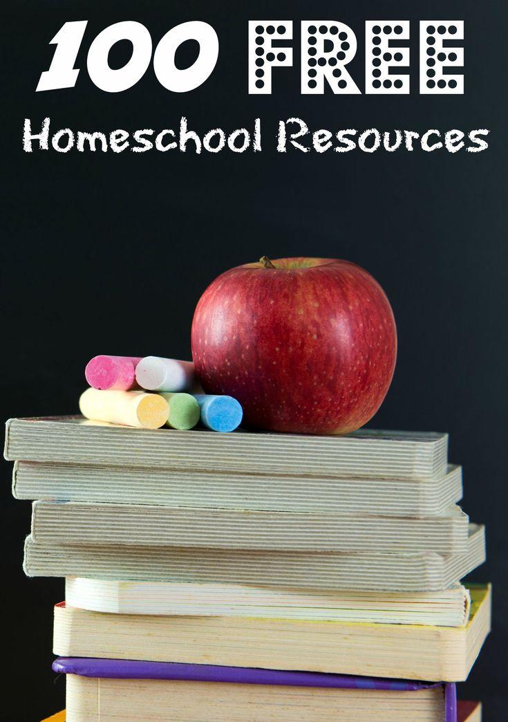 100 Free Homeschool Resources #LaughLearnLinkup #Homeschool