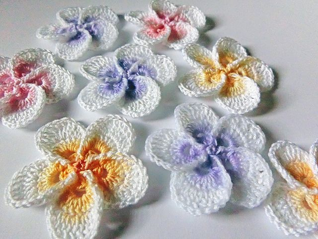 Crochet Flower Pattern Instructions : 1406 best crochet flowers images on Pinterest