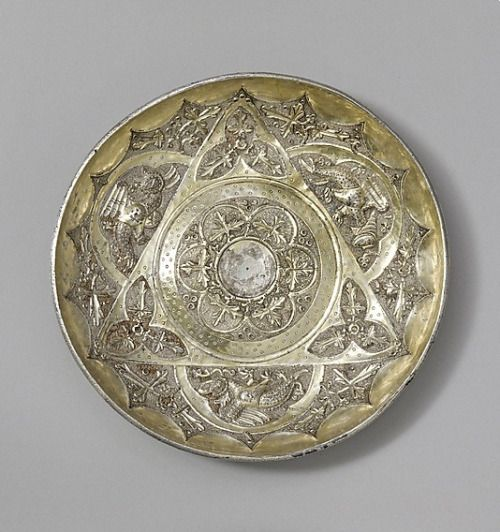Eastern Europe. Drinking Bowl (Hanap), silver and gilded silver, c. 1350-70 - This hanap, known as the Sanko Bowl.