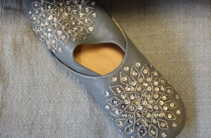 Marocco leather slippers