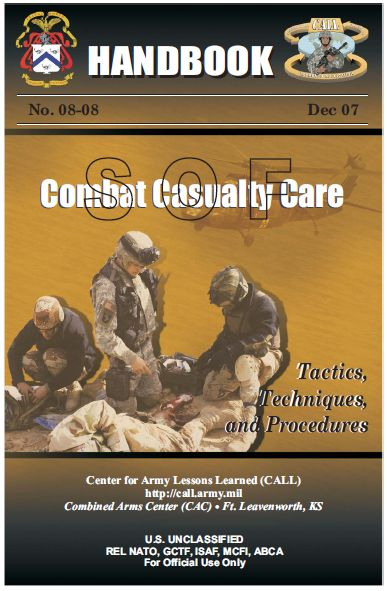 U.S. Army Special Operations Forces Combat Casualty Care Handbook