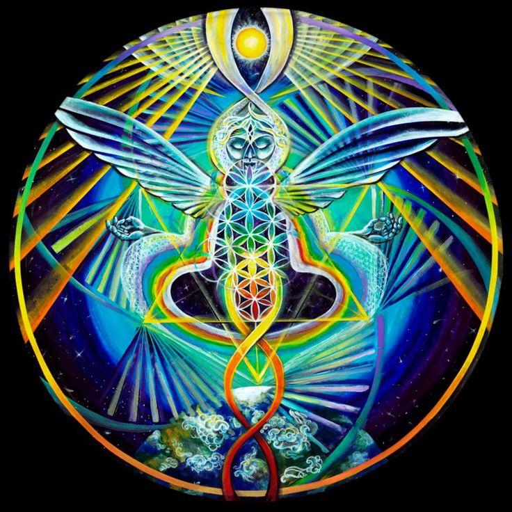 Morgan Mandala / Sacred Geometry <3