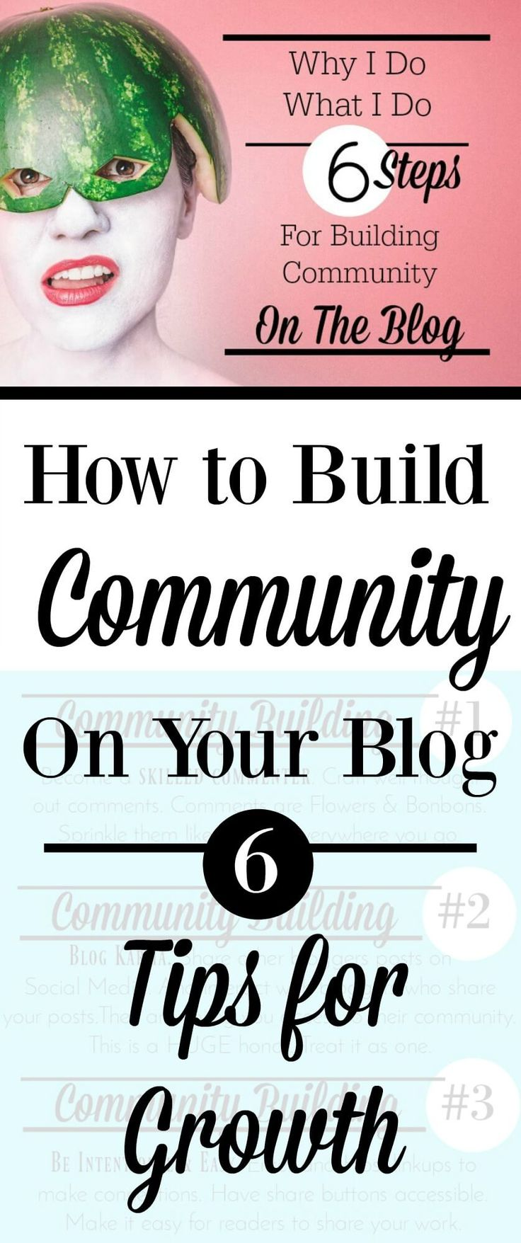 Why I do what I do on the Blog to create community. 6 Tips or Steps to create community.