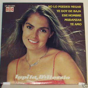Lupita D'Alessio Contiene El Hit Mudanzas LP | eBay