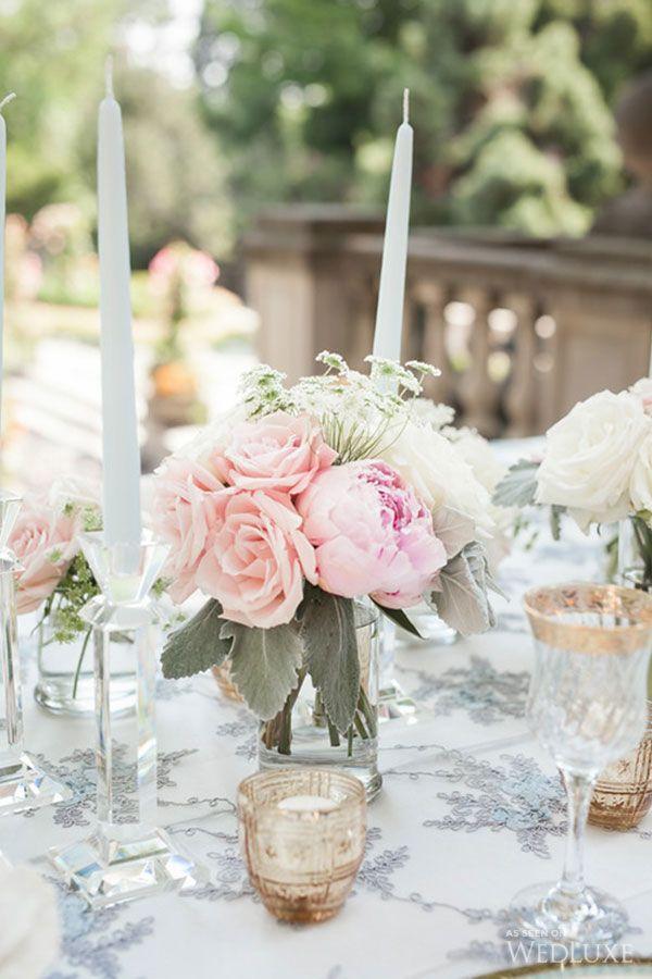 Best 25 pastel wedding centerpieces ideas on pinterest for Sleeping beauty wedding table