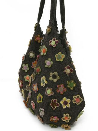 Sophie Digard Wild Flower Tote in Flower Mix : Ped Shoes
