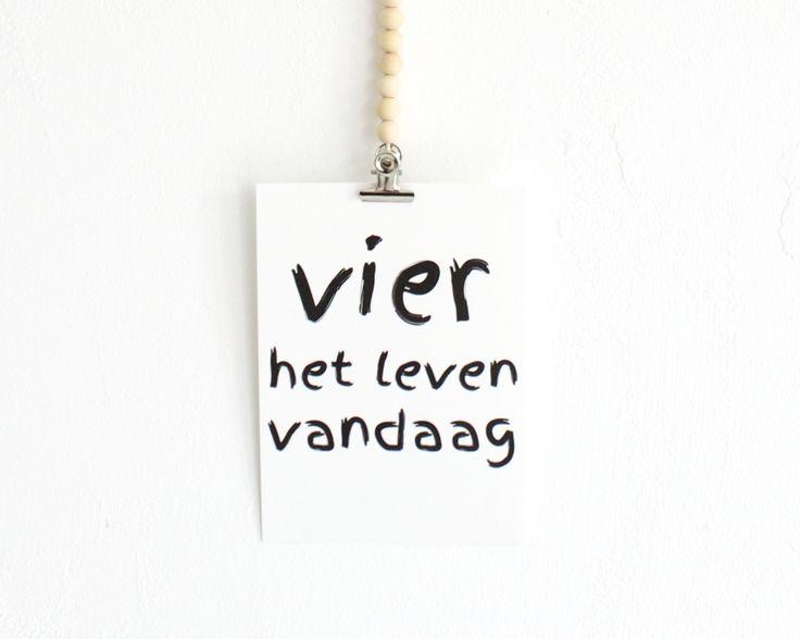 Vier het leven | Koetjes en Kaartjes.nl