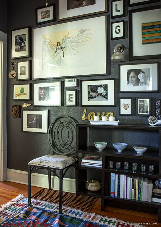 178 best gallery walls, picture ledges and photo displays images