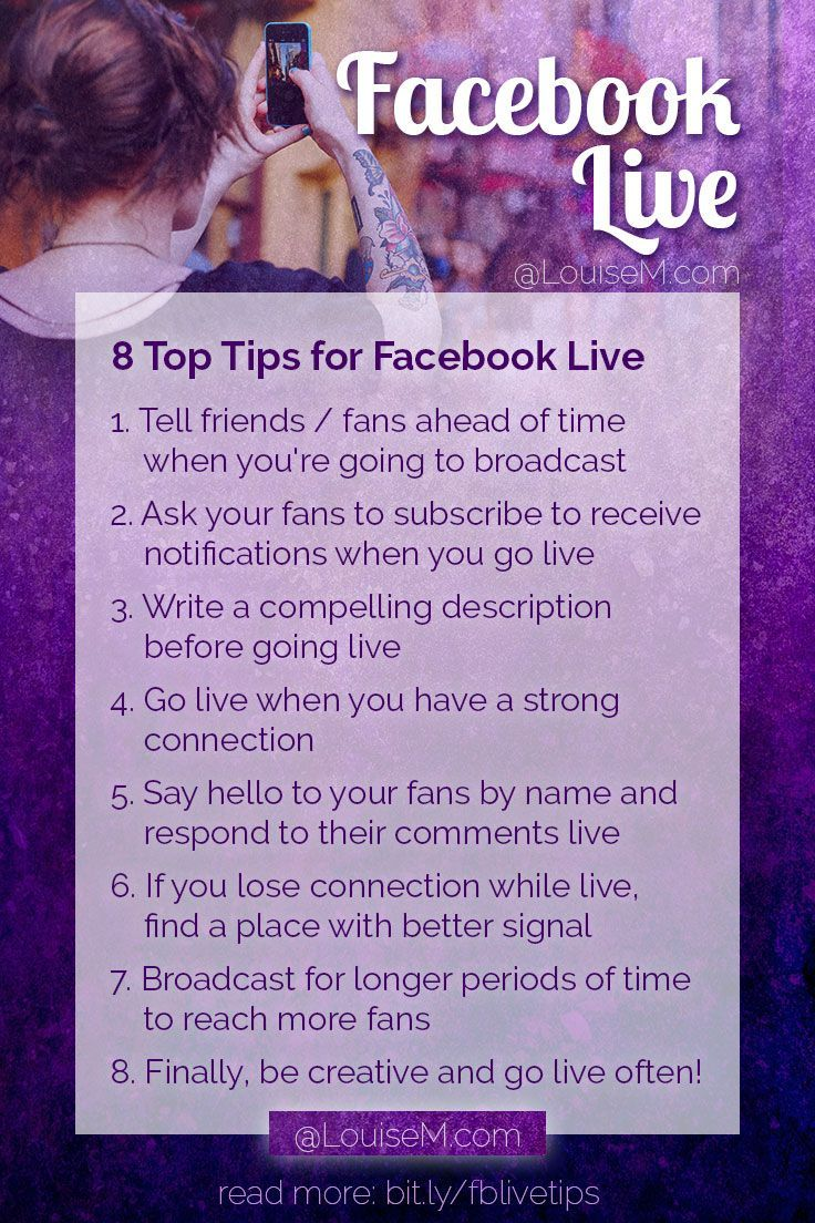 8 Facebook Live Tips: How To Succeed On Facebook Now