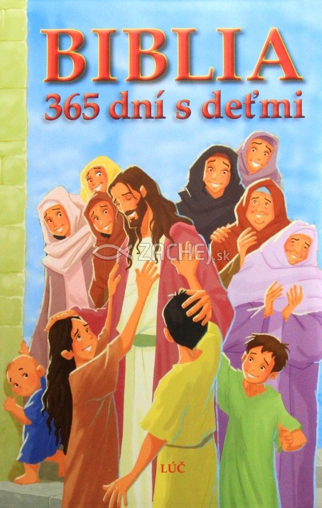 Biblia 365 dní s deťmi - Jeden príbeh denne - na každý deň v roku | Joy Melissa Jensen | 18,43€ - obrázok
