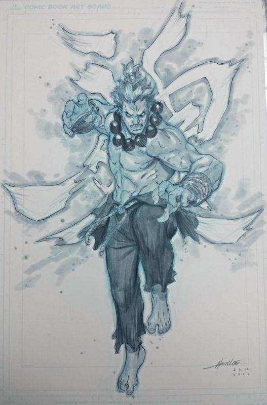 Street Fighter - Shin Akuma by Alvin Lee *