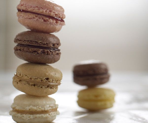 French Macarons by Alice Medrich | Brown/Taupe | Pinterest