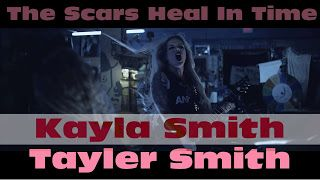 Kayla Smith Tayler Smith: The Scars Heal In Time - In Your Flame   We are so excited about the release of this video. In your Flame is a song about being with someone who brings out the absolute worst in you. We wanted to come up with a concept for the video that portrayed that and we wanted to go for a horror movie vibe so right then we knew our Director Jon Vulpine would be perfect for the job. We gave him our concept and he worked with us to make all of our crazy ideas happen! This is our…