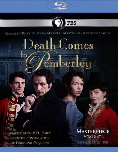 Masterpiece Mystery!: Death Comes to Pemberley [Blu-ray]