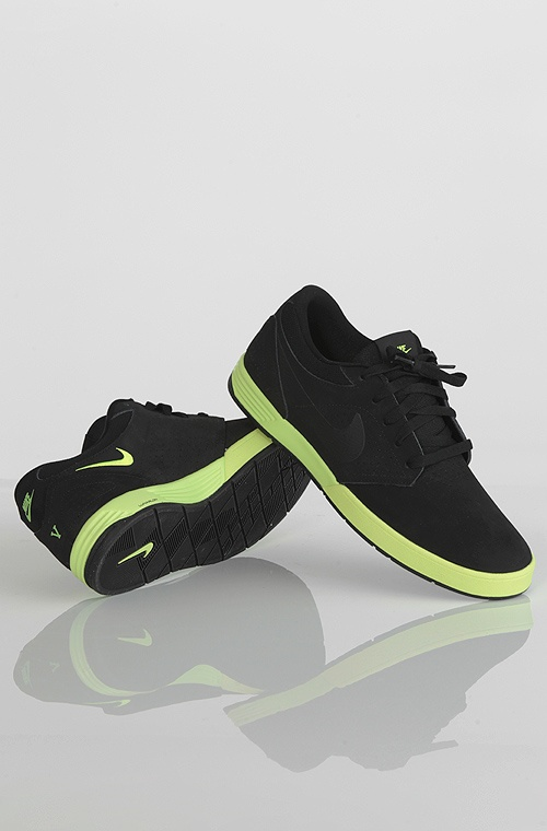 Nike Paul Rodriguez 5 kengät Black/Volt 89,90 € www.dropinmarket.com