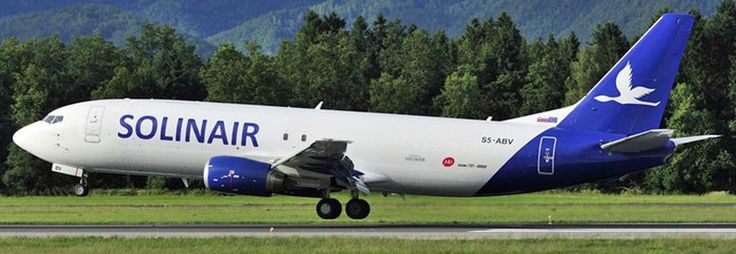Solinair Boeing 737-400F freighter