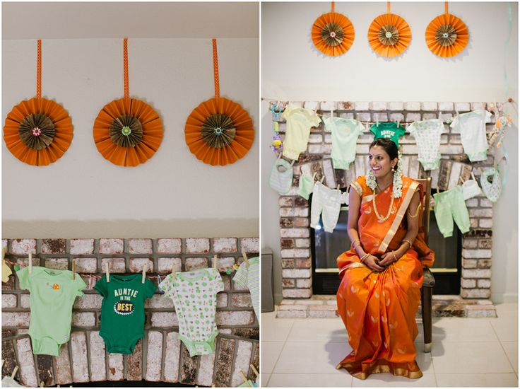 indian baby shower, indian traditional baby shower, godh bharai, hindu, sari, saris, colorful indian baby shower, diy baby shower, rustic baby shower