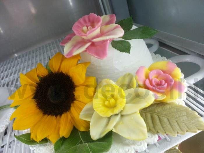 Stampi di #Rose per decorazioni di #gelato e #TorteGelato