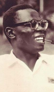 Barack Obama's Dad!! Barack Obama, Sr. From Kenya, he sadly died at age 46 from an automobile accident.