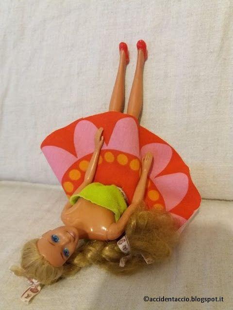 Accidentaccio: Ispirazioni&co - Barbie: vestito e scarpe nuove per la mia barbie