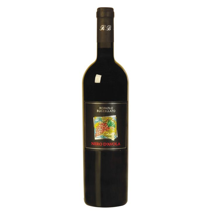 Nero d'Avola Vino Rosso IGP della Sicilia  Questo vino è prodotto nella zona di Vittoria in Sicilia (Sud Italia).   I vigneti sono coltivati ad alberello o a contro-spalliera e danno una resa di circa 80 ettolitri di vino per ettaro.   La vendemmia inizia tra fine agosto ed i primi di settembre a seconda dell'andamento climatico.   La vinificazione viene fatta a temperatura controllata.   Il vino viene mosso per un breve periodo nelle vasche di acciaio poi viene affinato nelle botti di legno
