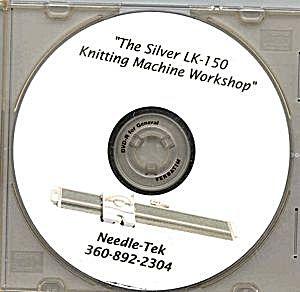 LK-150 Knitting Machine Workshop - Instructional DVD by  Needle-Tek (Image1)