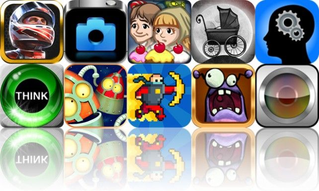 Today's Apps Gone Free: DrawRace 2, Blux Camera, Grimm's Hansel And