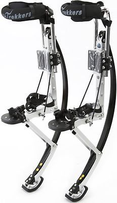 Other Outdoor Sports 159048: Air-Trekker Jumping Stilts Bw-Adult-Medium Edition 160-200 Lbs -> BUY IT NOW ONLY: $309 on eBay!