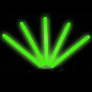 "6"" Lumistick Glow Stick Light Sticks Green (Tube of 25) by Lumistick. $11.99. 1 Tube of 25 Standard 6"" Glow Light Sticks. Contains All Green Glow Light Sticks. Great for Halloween, Parties, Bath Tub Fun, Weddings, Bars & More. 25 Removable Connectors with Necklace Strings -- Hang Them Anywhere!. Glows 8 - 12 Hours; Brand New & Fresh from the Factory. The best brand of glow sticks on the market. You will receive 1 tube of 25 LumiStick luminescent light sticks. Your order..."