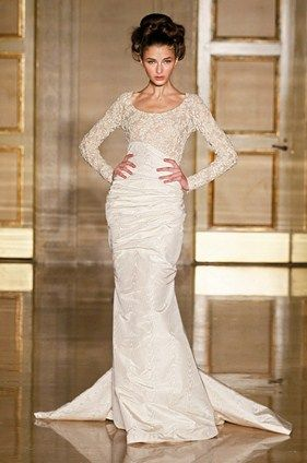 Douglas Hannant, Fall 2013 Wedding Dress -  Colin Cowie Weddings