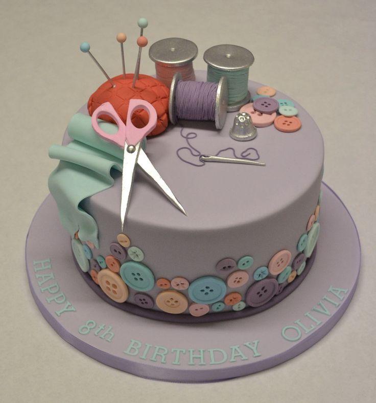 Sewing and Needlework Cake