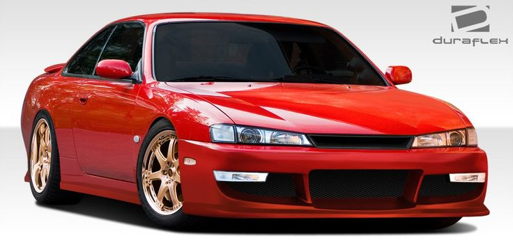 1997-1998 Nissan 240SX Duraflex WX-9 Body Kit - 4 Piece