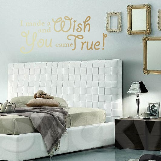 Wall Sticker A WISH by Sticky!!!