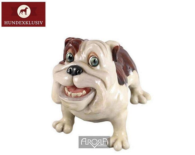Hundefigur Bulldogge Crazy Butch  Absolutes Kraftpaket mit Charme, die Hundefigur Bulldogge Crazy Butch. Was für ein atemberaubender Kerl!  Ein absolutes Deko Schmuckstück für alle Hundeliebhaber und Freunde dieser tollen Rasse.