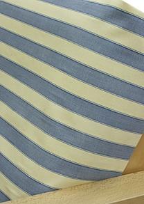 blue stripe futon cover $69