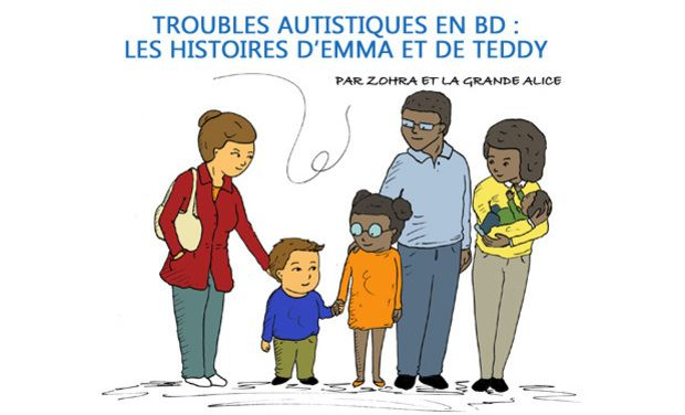 Une Bande Dessinée pour un monde bienveillant envers les enfants à troubles autistiques !