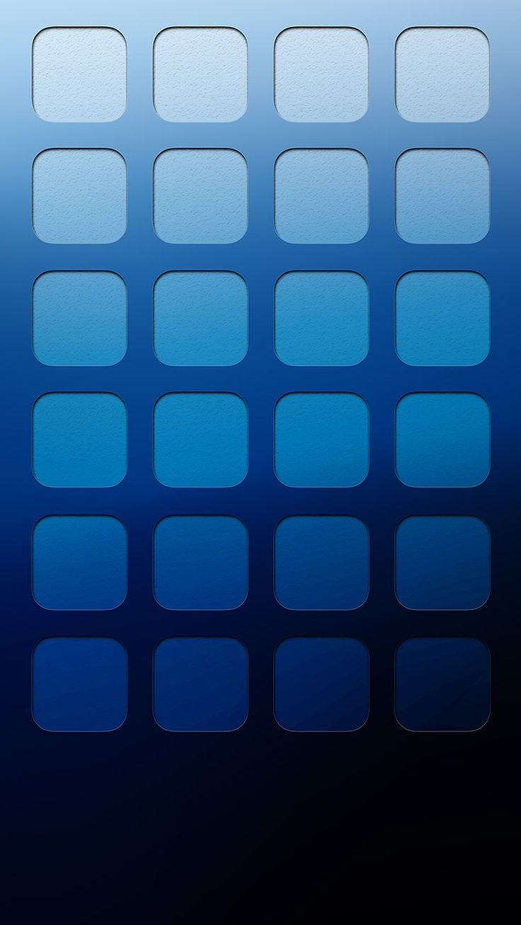 TAP AND GET THE FREE APP! Shelves Icons Ombre Simple Blue