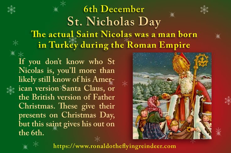#today 6th December is #StNicholasDay  #NationalPawnbrokersDay #NationalMinersDay The third-century saint who sold all his possessions and gave his money to the poor #christmas #santaclaus #ChristmasTraditions #stnicholas